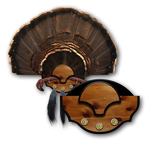 Mountain Mike's Reproductie Beard Master Turkey Mounting Kit - Woodgrain, Universal