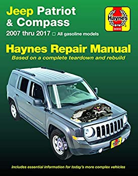 Jeep Patriot & Compass  07-17  Haynes Repair Manual  Does not include information specific to diesel engine models Includes thorough vehicle coverage .. exclusion noted   Haynes Automotive