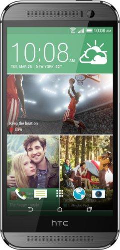 HTC One M8 Fábrica Desbloqueado Smartphone com 32 GB de memória, suporte Nano-SIM e 5,0 polegadas exibição Garantia US (Gunmetal Gray)