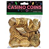 Amscan Casino Gold Coins, One Size