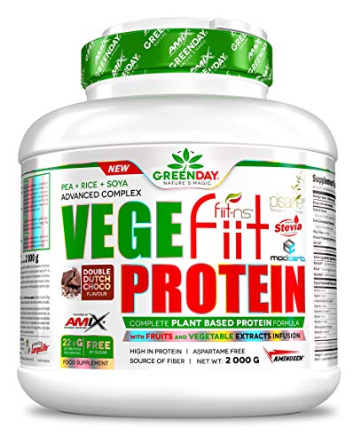 Amix Vegefiit Protein 2 Kg Doble-Chocolate 2000 g