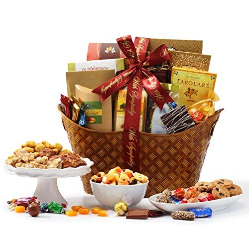 Broadway Basketeers With Sympathy Gourmet Gift Basket