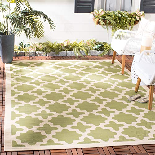 alfombra verde de la marca Safavieh