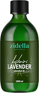 Zidella Naturals Premium Himalayan Lavender Essential Oil From High Altitude for Hair, Skin, Face, Calming Bath or Massage...