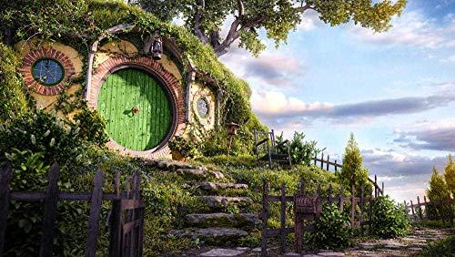 Puzzle 1000 Piezas Juguete Intelectual Desafío para Niños Y Adultos Juego De Rompecabezas Divertido Juego Familiar, The Lord of The Rings: Famous Movie: Poster