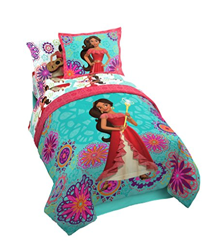 Jay Franco Disney Elena Magic of Avalor Twin 4 Piece Bed-in-A-Bag