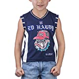 Ed Hardy Little Boys' Sport Vest- Blue - 2/3