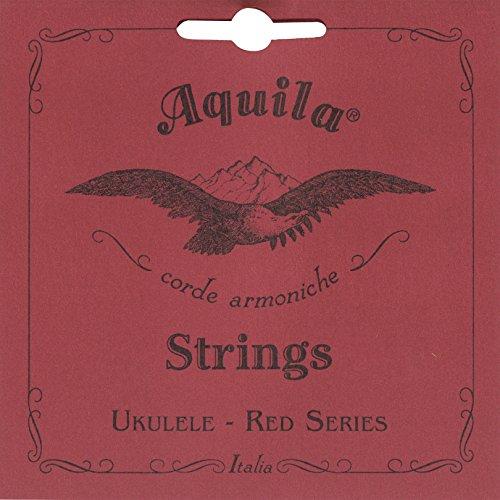 Aquila 84U - Juego de cuerdas para ukelele soprano en Sol (grave), Do, Mi, La