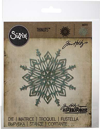 Thinlits Stanzschablone - Flurry #4 von Tim Holtz