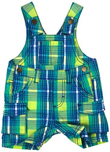 Kanz Baby-Jungen Latzhosen, Mehrfarbig (y/d Check|Multicolored 0002), (Herstellergröße: 68)
