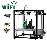 Flsun 3d Printer F5 DIY Kit Touch Screen Dual Nozzle Auto Leveling Cube Full Metal Square Large printing size 260X260X350mm with heated Bed Precision