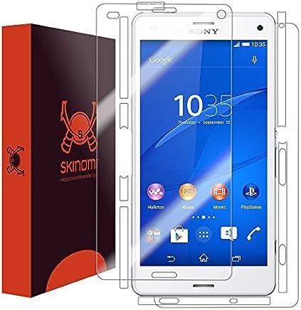 TechSkin - Sony Xperia Z3 Protector de pantalla compacta + cuerpo completo protector de la piel
