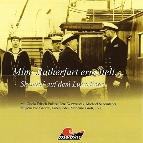 Skandal auf dem Luxusliner audiobook cover art