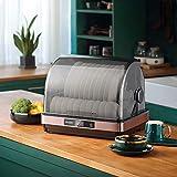 Accessori per evaporatori Armadio per la disinfezione del piccolo clamshell della famiglia, la cucina del desktop della cucina dell'acciaio inossidabile e della macchina da tavola, asciugatrice ad alt