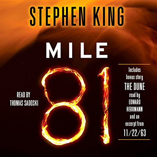 Mile 81 audiobook cover art