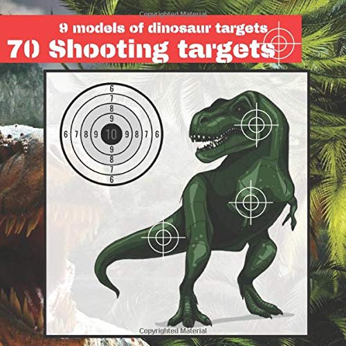 "70 Shooting Targets: 8.5"" x 8.5"" 