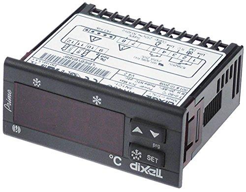 DIXELL XR40C-5N1C1 Elektronikregler 230V AC für NTC/PTC 0-60°C Abmaße 71x29mm Anzeige 3½-stellig Einbaumaß 71x29mm NTC/PTC DI