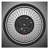 GJZhuan 36V 350W IMORTOR App App Bluetooth Front Motor Motor Motor Ebike Kit 24'27.5' 29'700C V Disc DE Disco Freno Inalámbrico Bicicleta Eléctrica Kit De Conversión (Color : V Wire, Size : 700C)