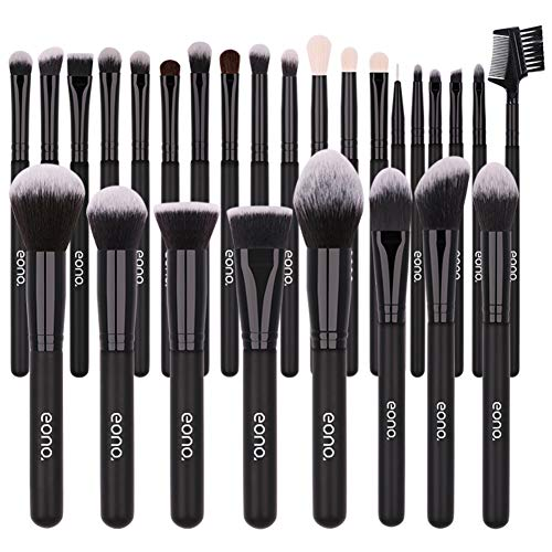 Eono by Amazon - Make Up Pinsel Set 27Pcs Professionelles Pinselset, Kosmetik Kosmetikpinsel Foundation Schminkpinsel Kosmetikpinsel Lidschatten Gesichtspinsel