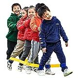 Legged Race Band Juegos De Cumpleaños/Fiestas Navideñas, Juegos Interactivos para Padres E Hijos En La Guardería, Kit De Día De Deportes Escolares (Color : Green, Size : 3 People)