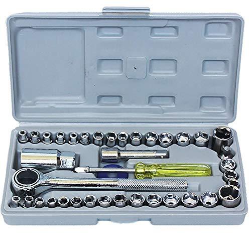 Herramienta especial para el desmontaje manual de la extensión cilíndrica del carro para reparar el zócalo de la bujía de la bujía de la llave de automóvil de uso general