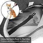 You Pet Dog Sling Carrier, Breathable Mesh Travelling Pet Hands-Free Sling Bag Adjustable Padded Strap Front Pouch Single Shoulder Bag for Dogs Cats 11