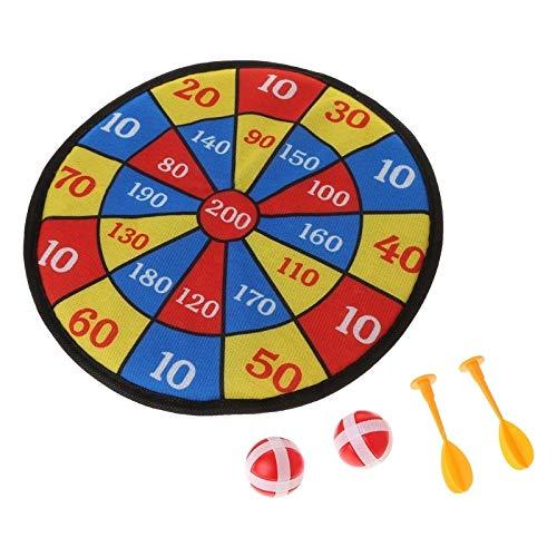 Delikat Sport Spielzeug Stoff Dartscheibe Set Kid Kugelziel Spiel for Kinder Sicherheit Spielzeug