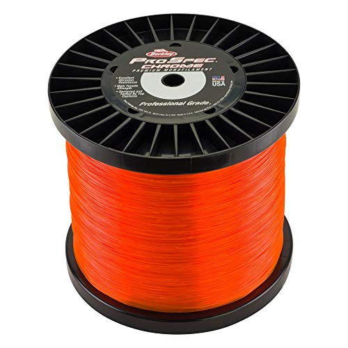 Berkley Prospec Chrome Fishing Line, 2000 yd, 130 lb, Blaze Orange, 2000 yd/ 130 lb