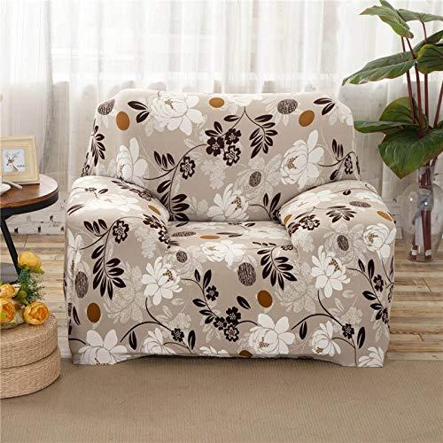WXQY Funda de sofá geométrica elástica Funda de sofá elástica, Utilizada para la sección de la Sala de Estar, Funda de sofá, Funda de Esquina, Funda de sofá A5 de 2 plazas