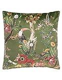 ESSENZA Zierkissen Airen Dschungel Polyester Grün, 50x50 cm