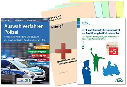 Auswahlverfahren und Einstellungstest Polizei – alles in einem Paket: Bewerbung, Vorstellungsgespräch, Eignungstest, Sporttest, Assessment Center | Geeignet für alle Laufbahnen!