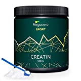 NEW: Creatine Monohydrate 500g | 200 Mesh, 99.5% pure | Increase Muscle Mass, Enhance Athletic Performance | VEGAN by Vegavero from Vanatari International GmbH