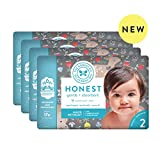 The Honest Company | Baby Diapers with Trueabsorb Technology | My Deer | Size 2 | 128Count