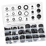 Inntek Gomma Assortimento Kit Gommino Elettrico Conduttore Guarnizioni Anello Set per Cavo, Spina e Cavo, 180 Pezzi