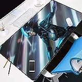 ZHANGSBD - XXL Alfombrilla para ratón Anime Warframe Hero Speed Gaming Mousepad 800x300mm Mouse Pad para Ordenador - Base para Mesa Grandes Dimensiones alfombrilla de ratón grande para teclado de escr