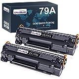 OfficeWorld CF279A Cartuccia di Toner per HP 79A CF279A (2 Nero) Compatibile con HP LaserJet Pro M12 M12a M12w, HP LaserJet Pro MFP M26 M26a M26nw