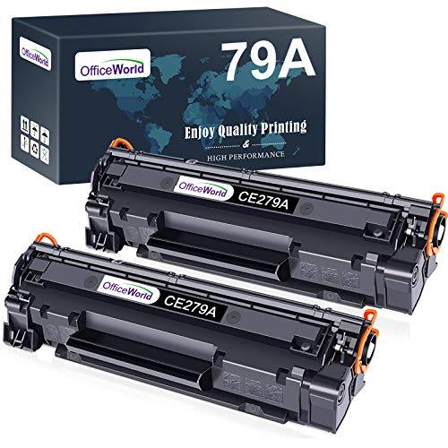 OFFICEWORLD CF279A 79A Cartuchos de toner Reemplazo para HP 79A CF279A Compatible con HP LaserJet Pro M12 M12a M12w, HP LaserJet Pro MFP M26 M26a M26nw Impresora (2 Negro)
