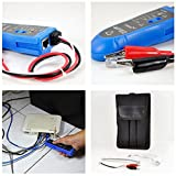 Profesional Noyafa NF-806 Network Telephone Wire Rastreador de cables RJ45 Tester (Color: azul)