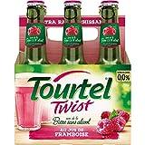 Tourtel Twist Bière Sans Alcool Framboise, 6 x 275ml