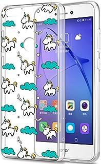 Amazon.it: cover huawei p8 lite unicorno - Trasparente