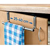 art moon Spread – Over Door Towel Rail – Extendable Towel Holder for Cupboard Drawer Cabinet – Anti-Slip...