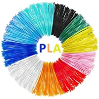 Lápiz 3D Filamento AveyLum 10 Paquetes 1.75 mm Impresión 3D Rellenos de Filamento PLA 5M Coloridos Filamentos de Impresora 3D