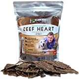 Vet Recommended Beef Heart Jerky for Dogs (8oz...