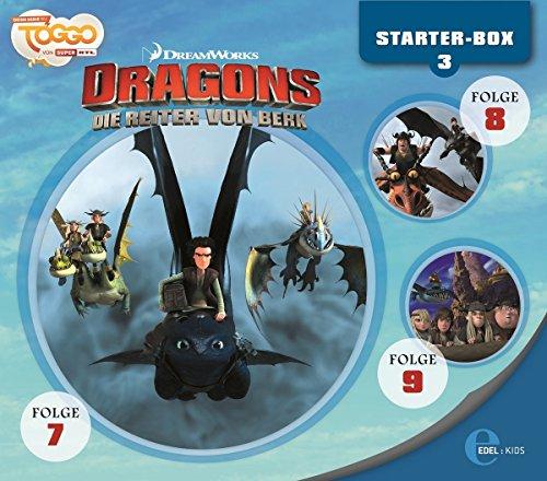 Dragons - Die Reiter von Berk -Starter-Box 3 (Hörspiel Folge 7-9)