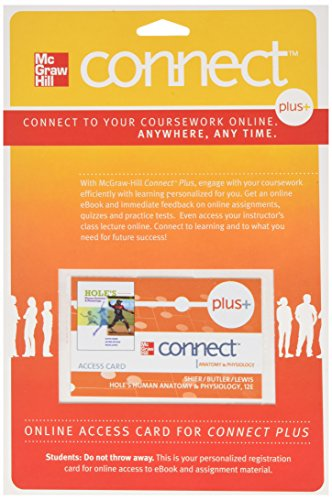Connect Plus Access Card for Hole's Anatomy and Physiology