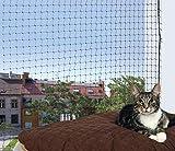 Trixie Filet de Protection 2 × 1,5 m Noir pour Chat