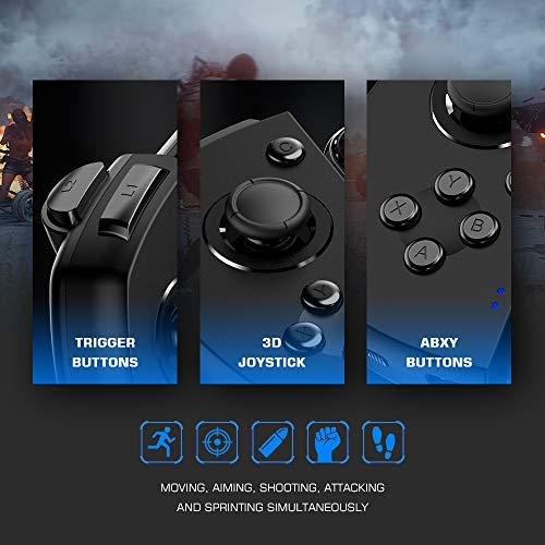 『Android ワイヤレス ゲームパッド GameSir G6 片手コントローラー COD/PUBG/ラフォートナイト/機動都市X/崩壊3対応』の4枚目の画像