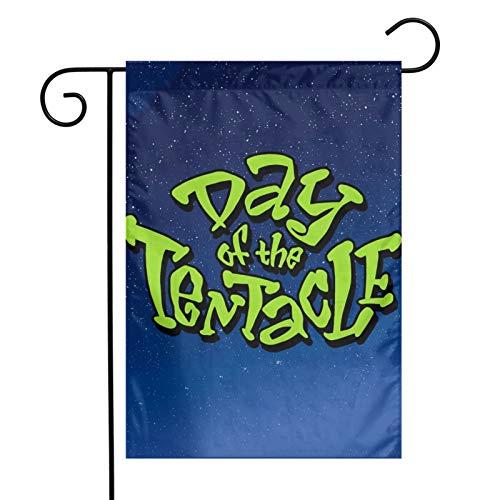 Guirnalda de banderines de papel para colgar en el Día del Tentáculo para despedida de soltera, compromiso, cumpleaños, boda, bebé, boda, boda, aniversario, jardín, fiesta de té, 30,5 x 45,7 cm