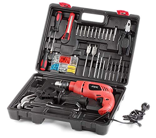 Bosch Skil 6513 JJ 550 watts 13 mm Impact Drill Machine (138 Pieces)