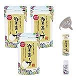 ぬちまーす(250g)×3袋(専用ボトル大小/詰替えじょうご付き)